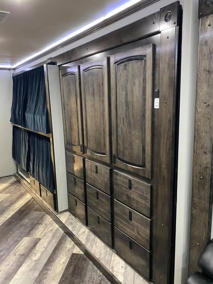 Racing hauler cabinets
