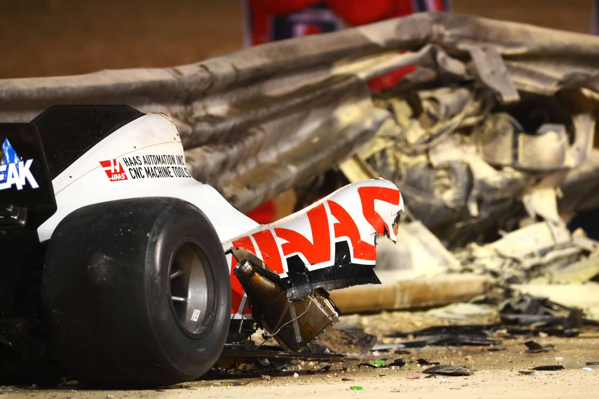 Romain Grosjean - Crash