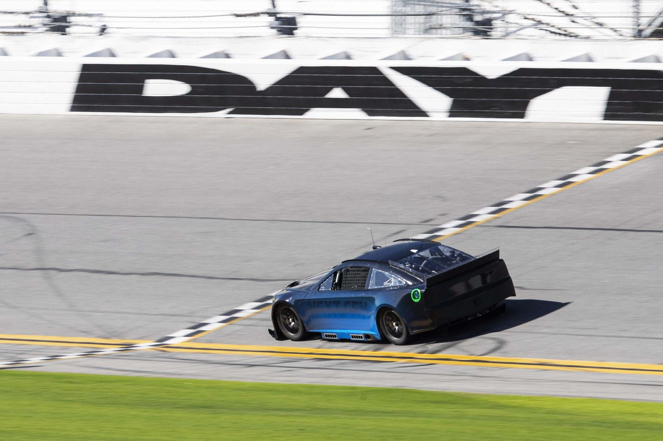 Superspeedway test for NASCAR Next Gen car