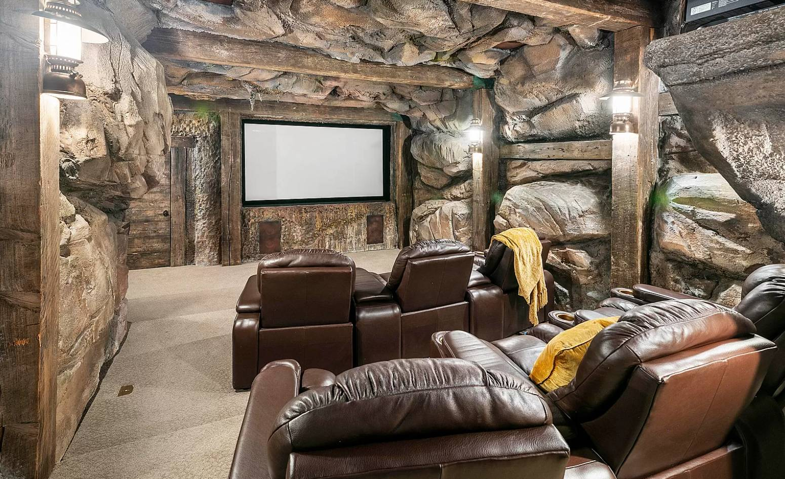 movie theater cave