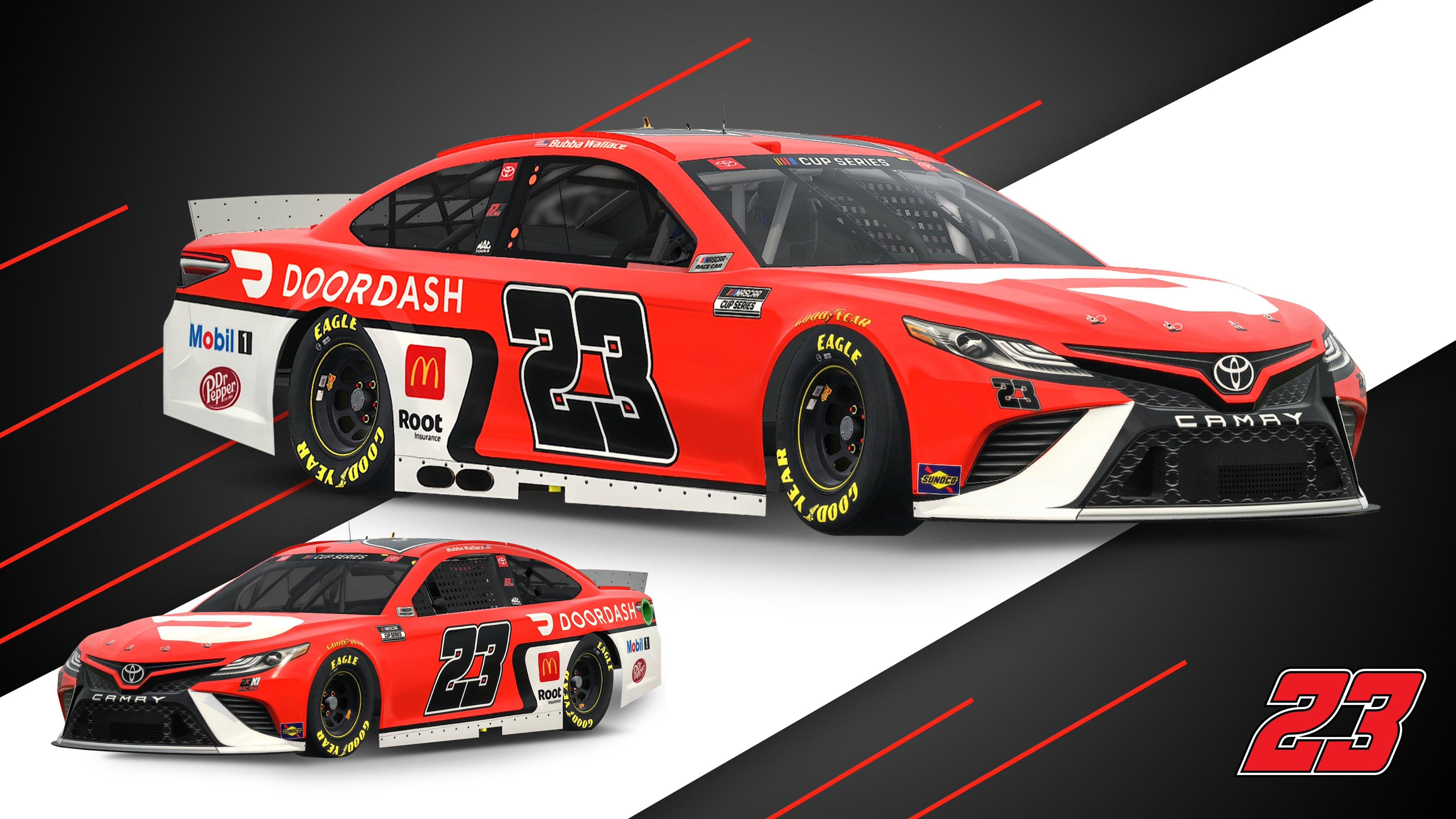 23XI Racing - Bubba Wallace 2021 car