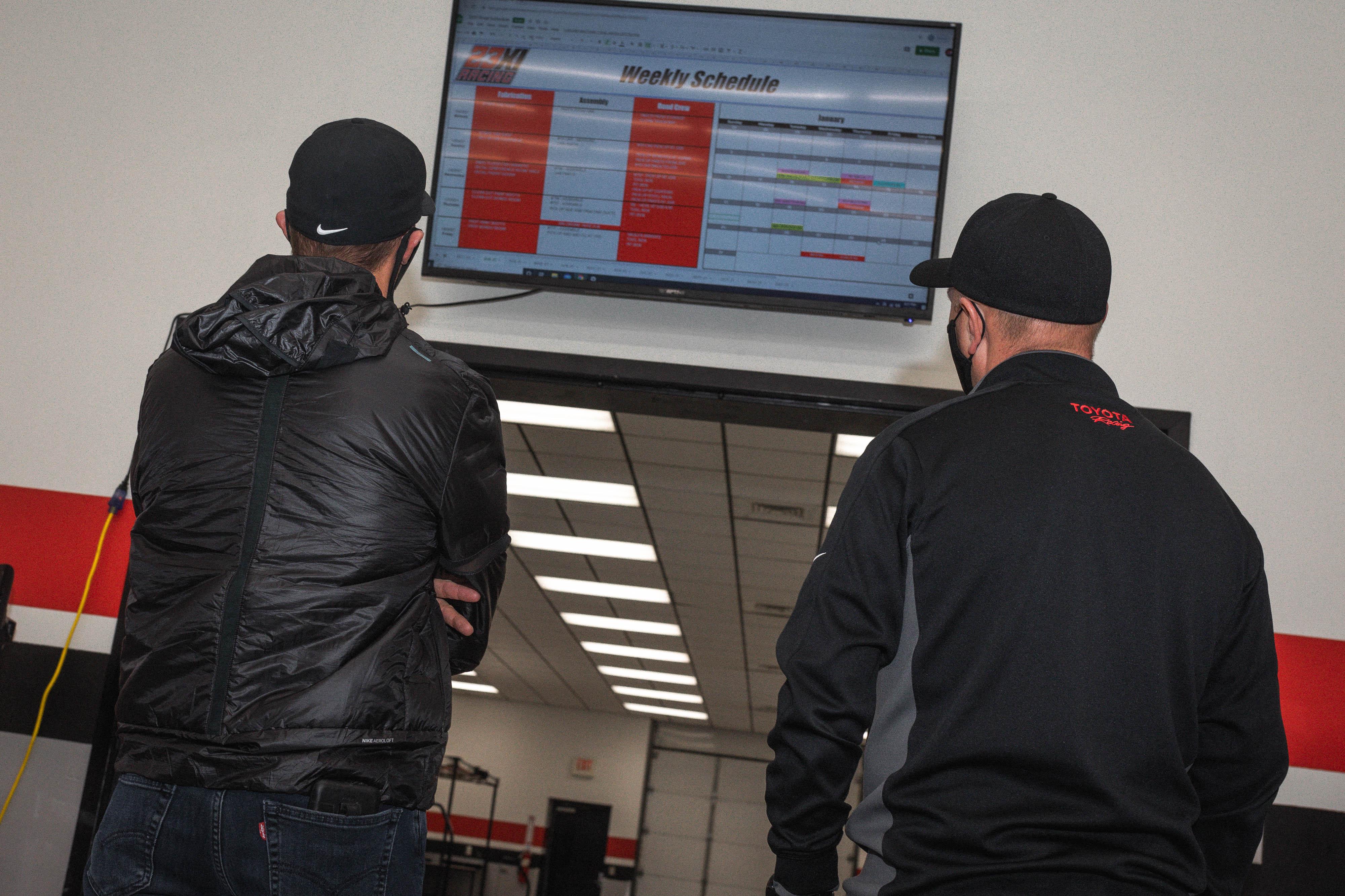 23XI Racing shop