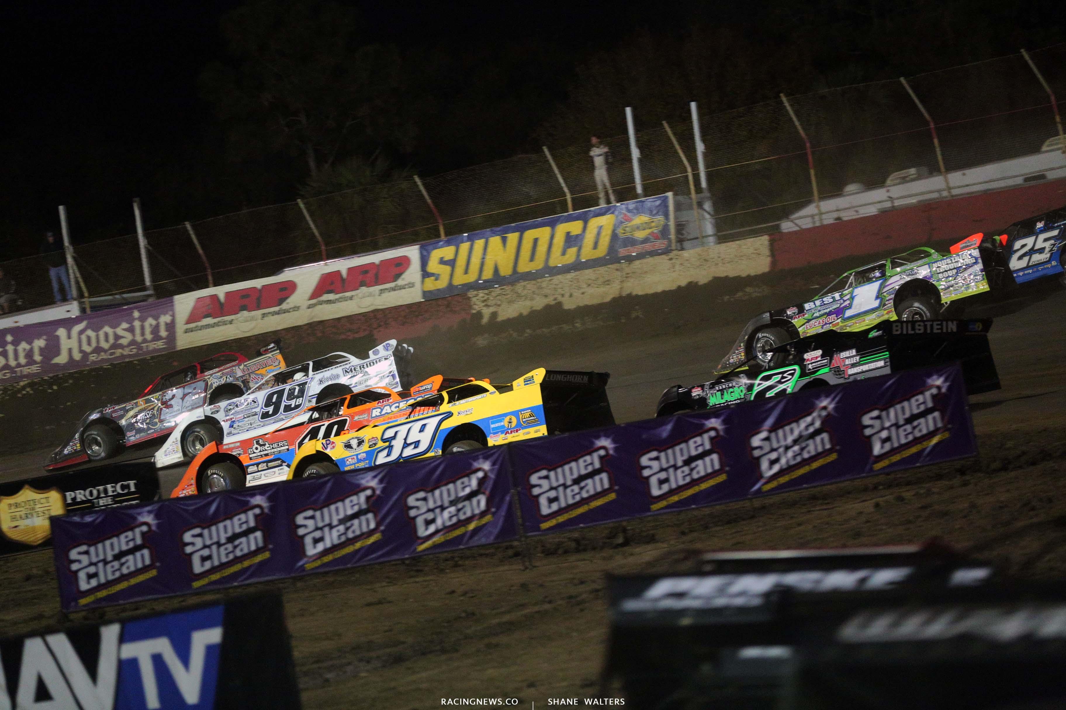 Bobby Pierce, Boom Briggs, Kyle Bronson, Tim McCreadie, Tyler Erb and Stormy Scott - Lucas Series 8060