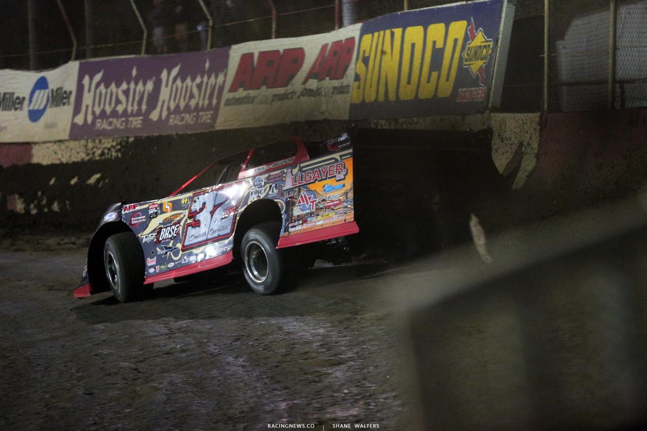 Bobby Pierce at East Bay Raceway Park - Lucas Oil Late Model 8124