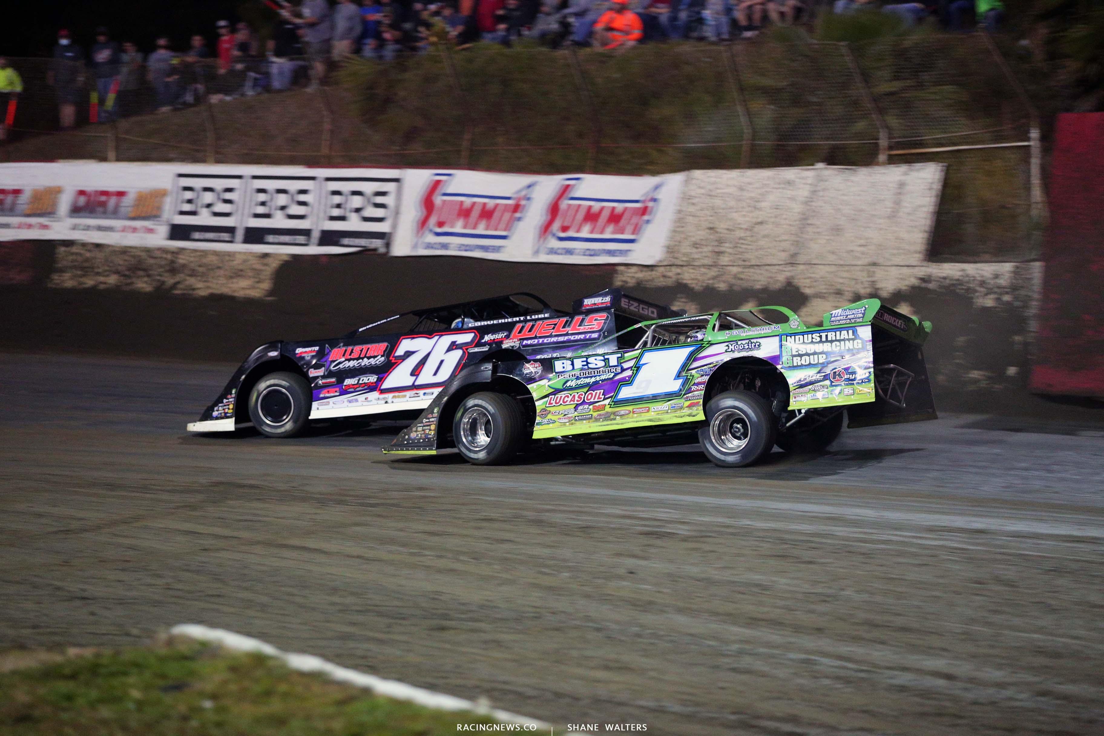 Brandon Overton and Tyler Erb - East Bay Raceway Park - Lucas Oil Series 7920