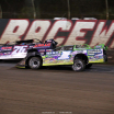 Brandon Overton and Tyler Erb at East Bay Raceway Park - Lucas Oil Late Model Dirt Series 7917