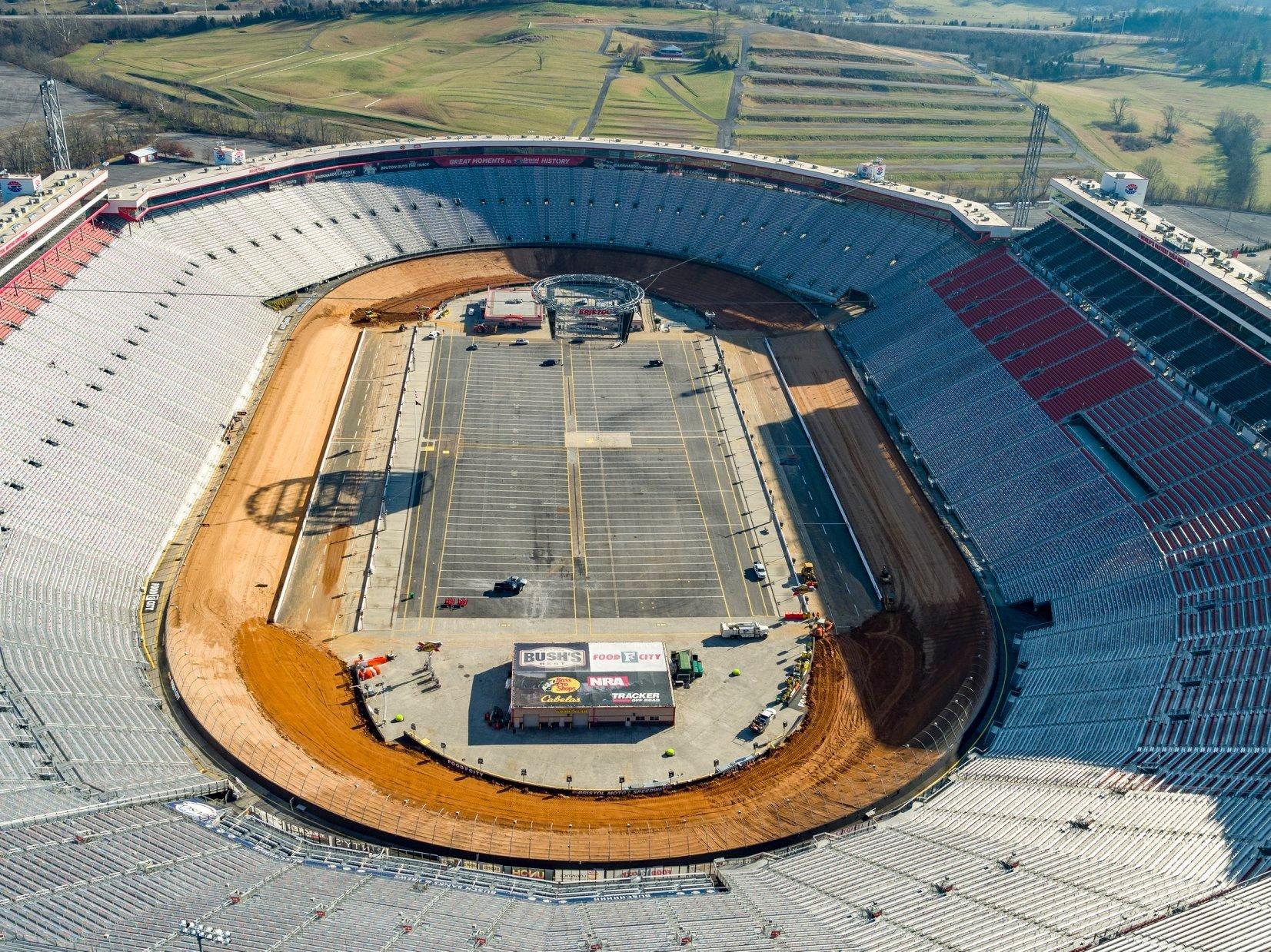 Bristol Motor Speedway - TN Dirt Track