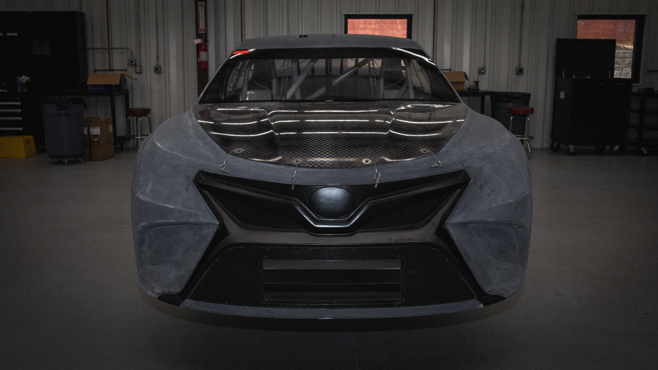 Bubba Wallace - 23XI Racing car