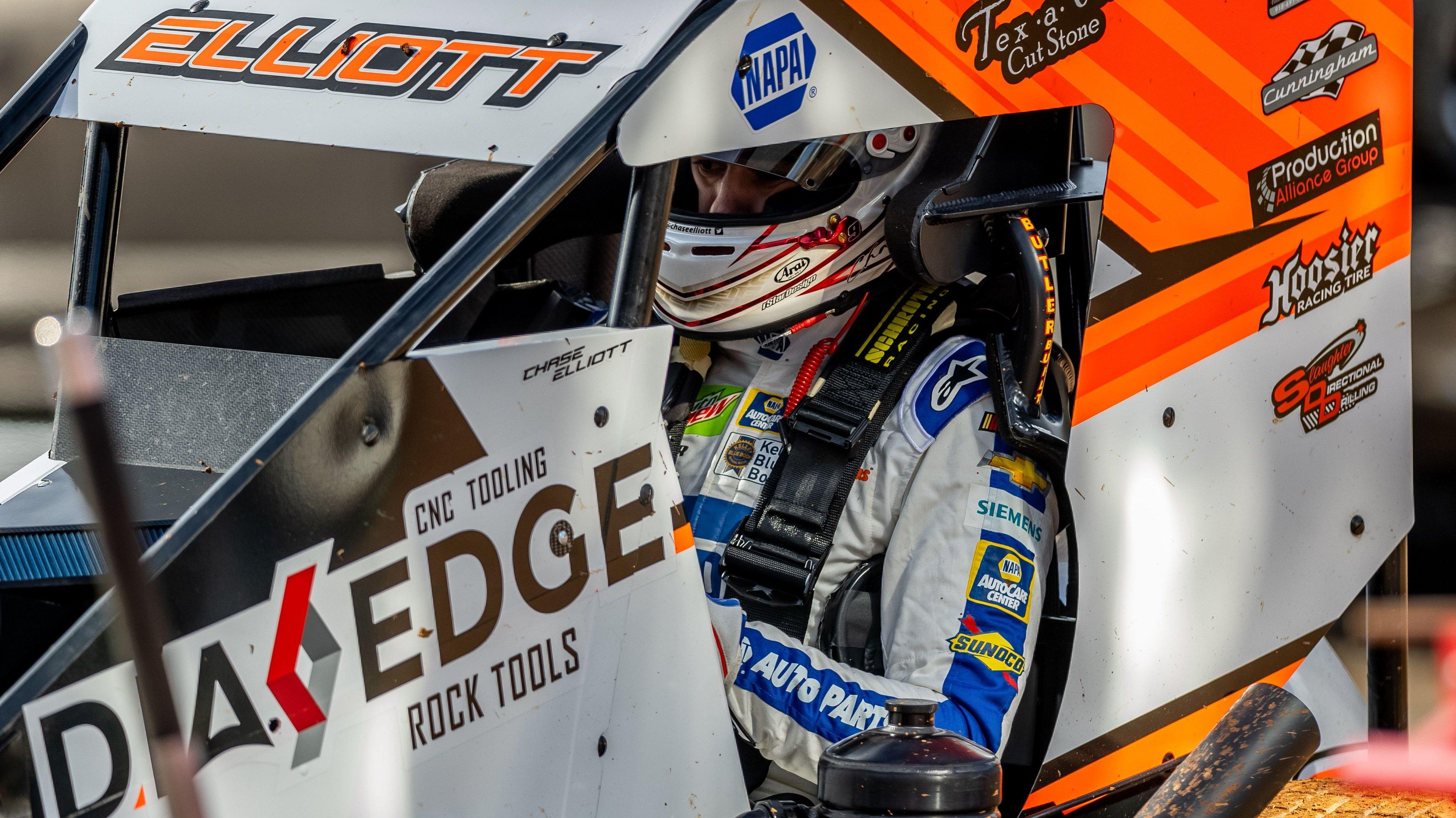 Chase Elliott - Dirt Track Racing