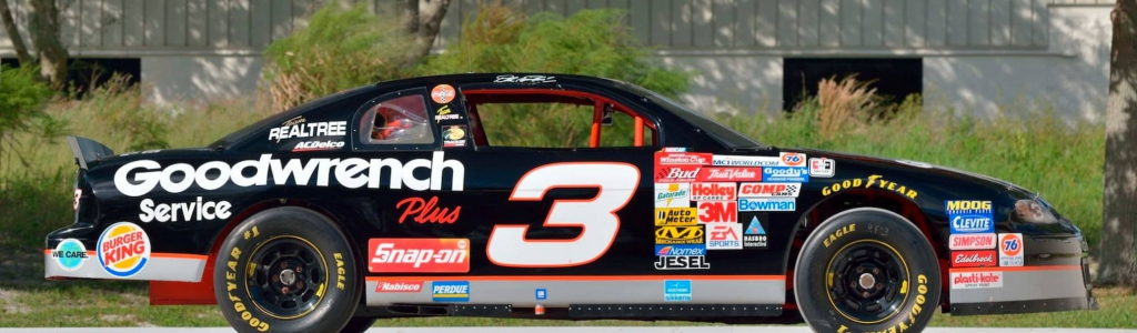 Dale Earnhardt car / RCR NASCAR chassis No.1 heading to auction
