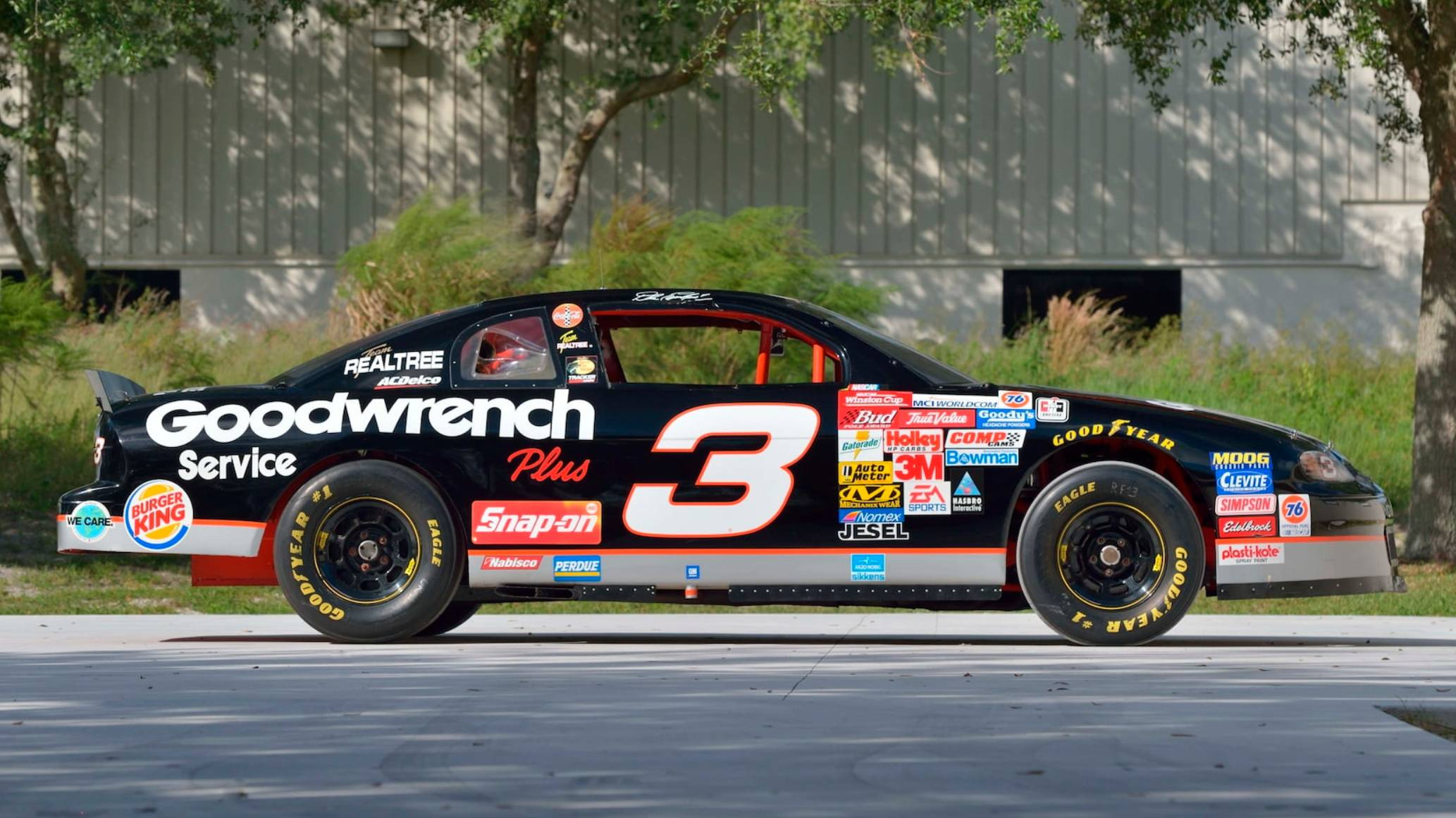 Dale Earnhardt car - RCR Racing Chassis