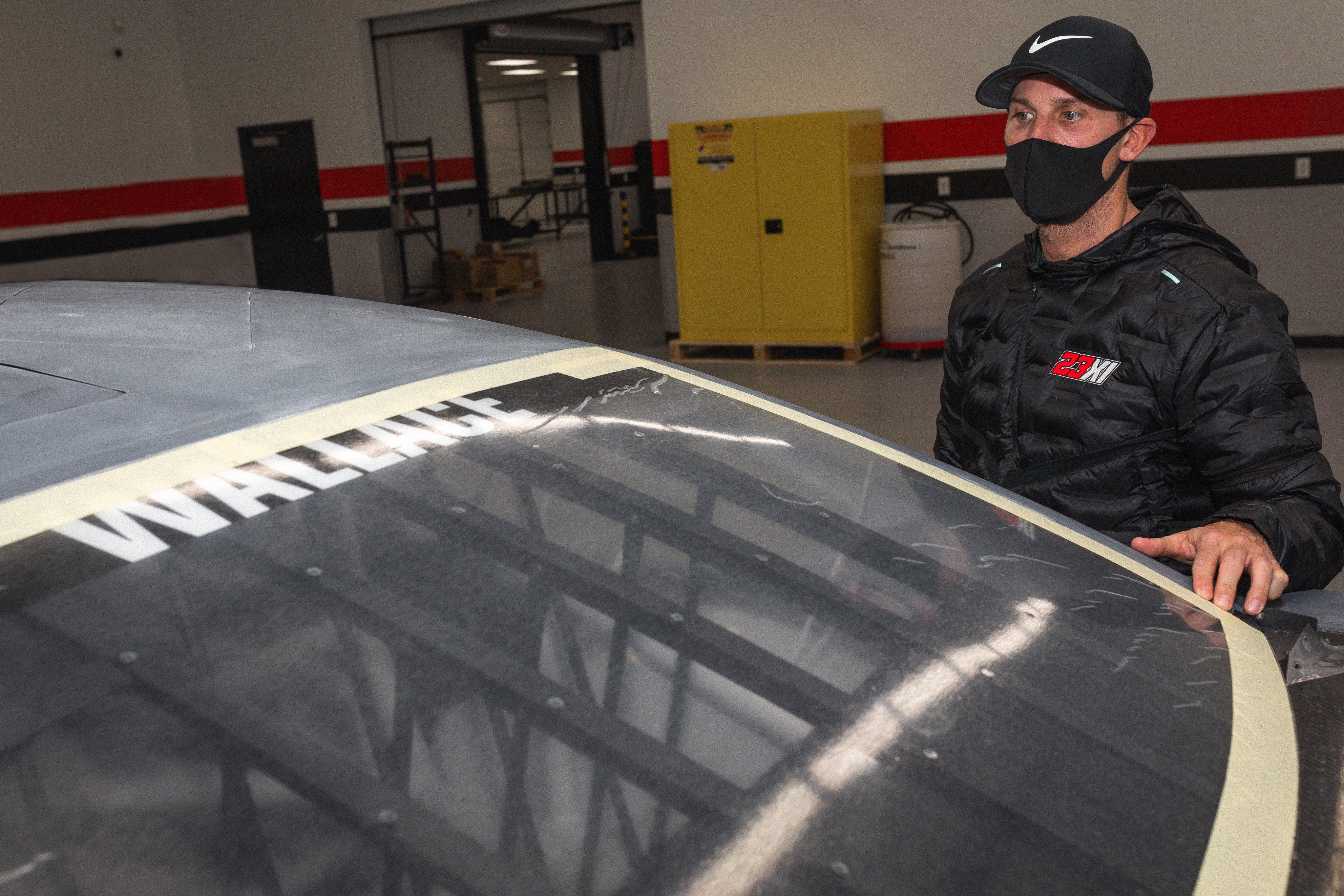Denny Hamlin - First 23XI Racing car