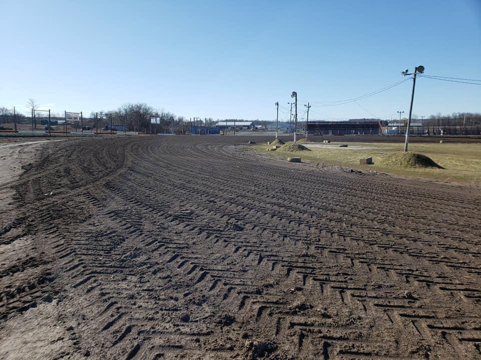 Dirt track in Vernon NY