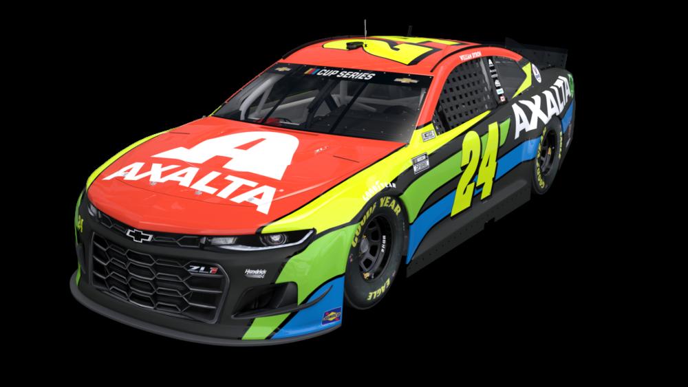 Hendrick Motorsports - Axalta 2021 paint scheme