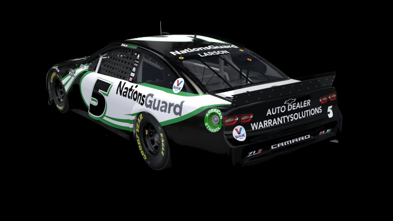 Hendrick Motorsports No 5 paint scheme - Kyle Larson