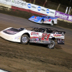 Hudson O'Neal and Brandon Sheppard at East Bay Raceway Park - Lucas Oil Late Model Dirt Series 7630