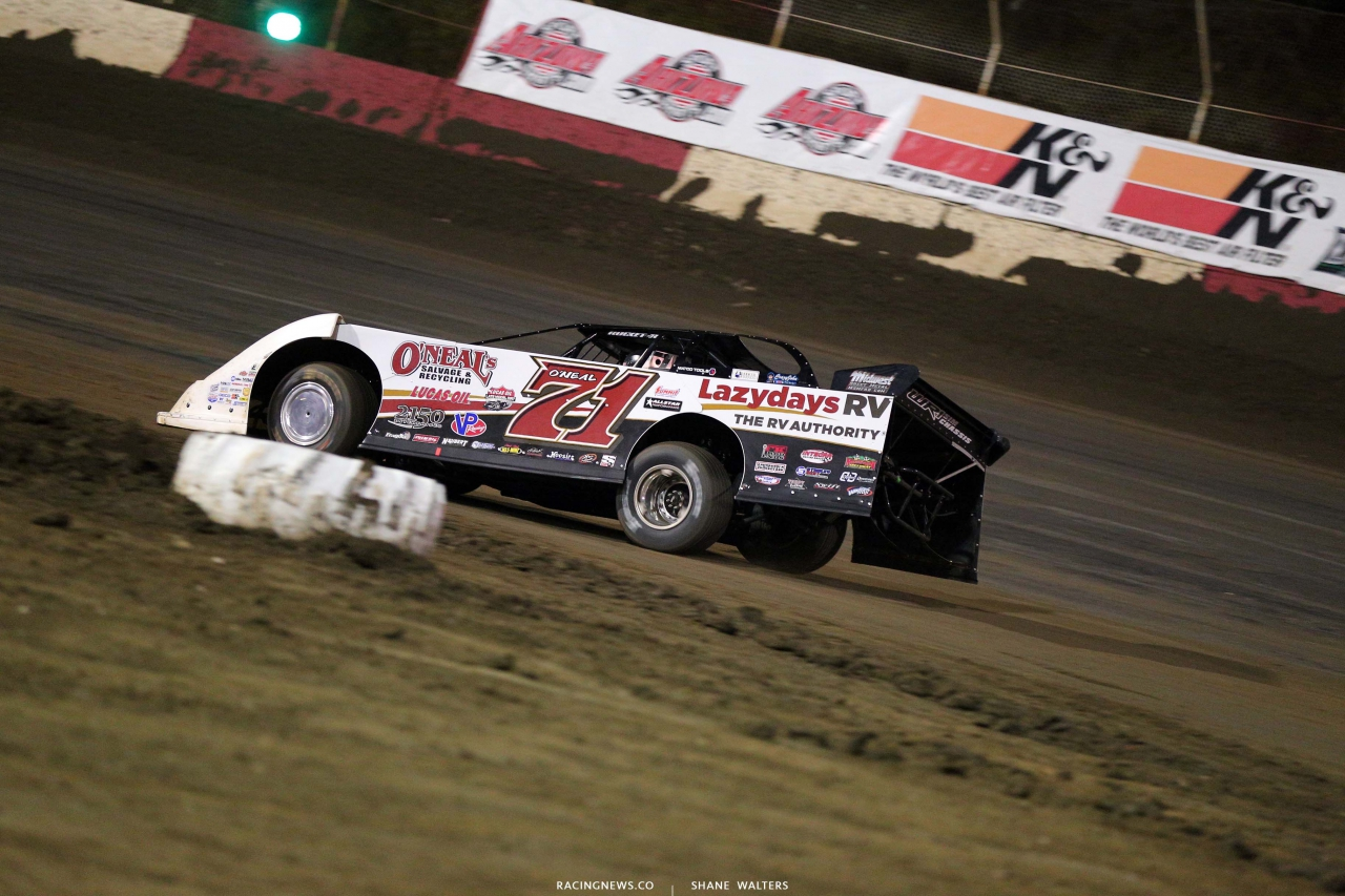 Hudson O'Neal at East Bay Raceway Park - Dirt Late Model 7683