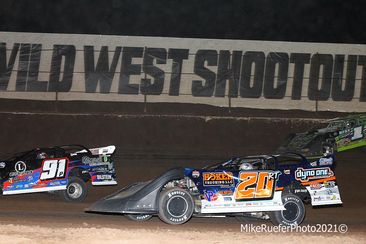 Jason Papich, Ricky Thornton Jr and Tyler Erb - Wild West SHootout