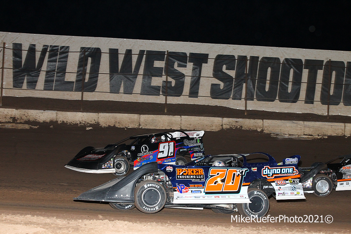 Jason Papich and Ricky Thornton Jr - Wild West Shootout