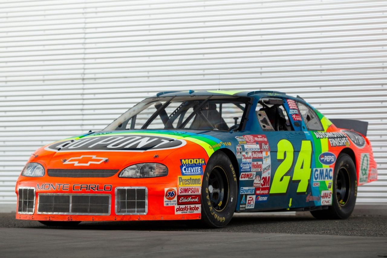 Jeff Gordon - 1997 race car - NASCAR