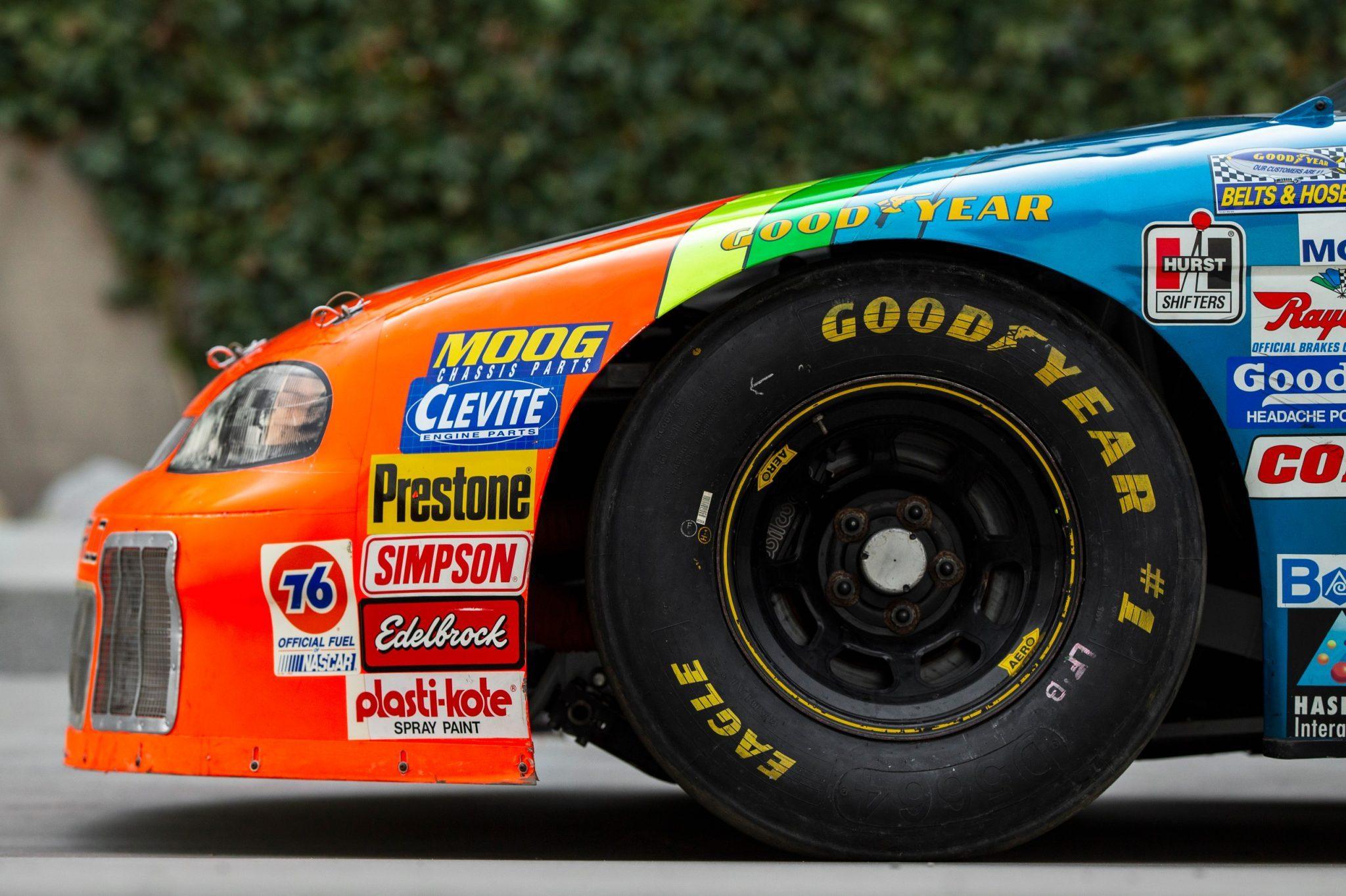 Jeff Gordon - Rainbow paint scheme - NASCAR Cup Series