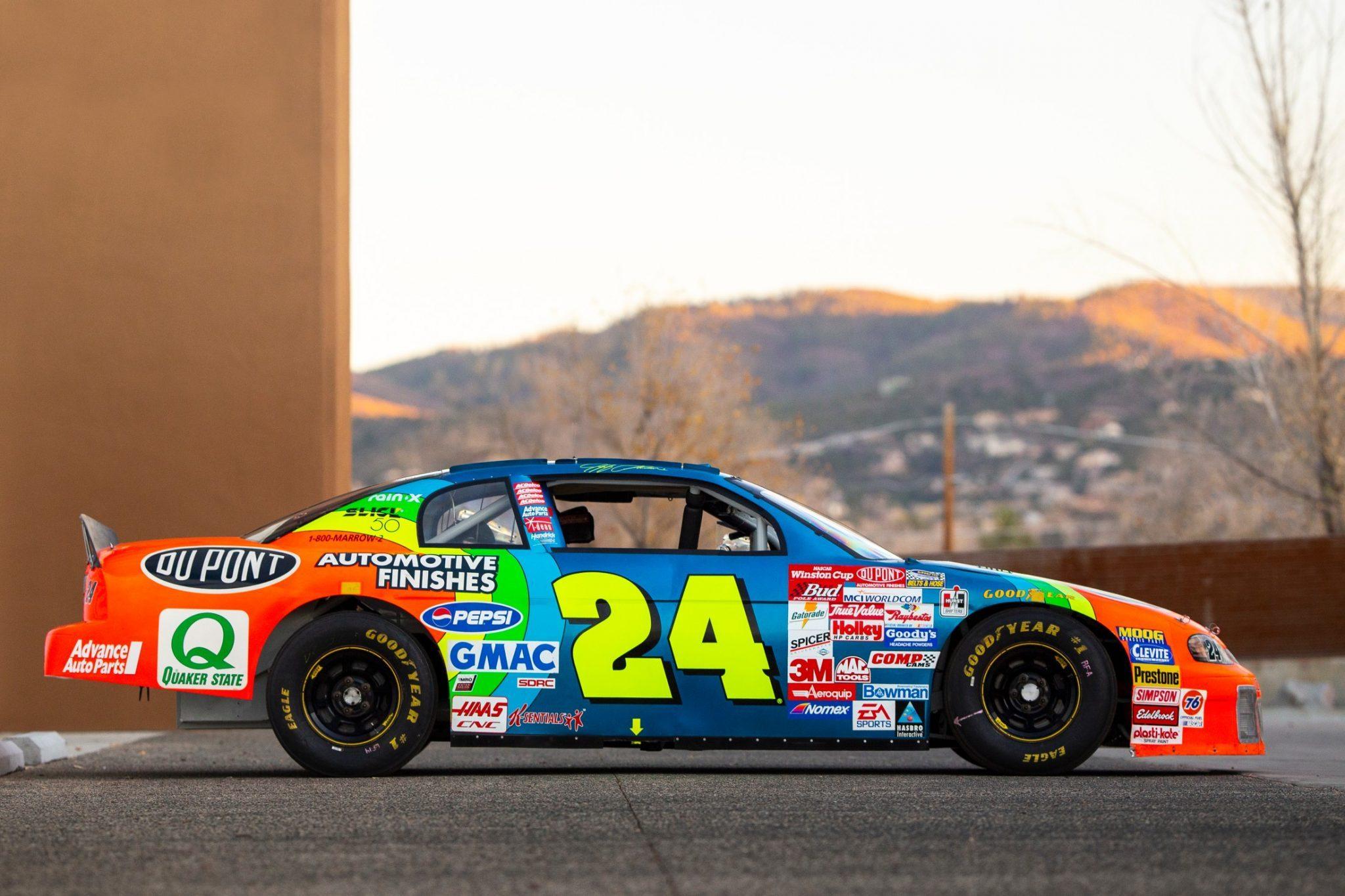 Jeff Gordon car sold - NASCAR Cup Series 24