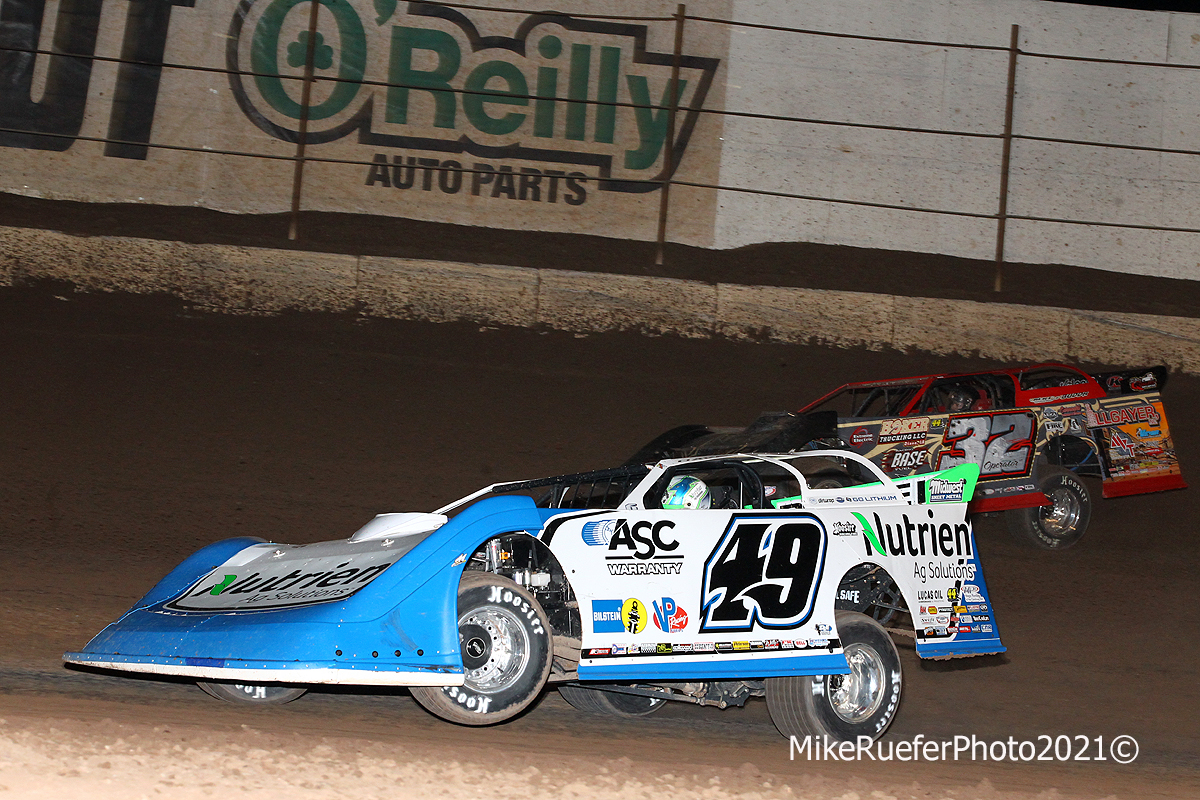 Jonathan Davenport and Bobby Pierce - Wild West Shootout