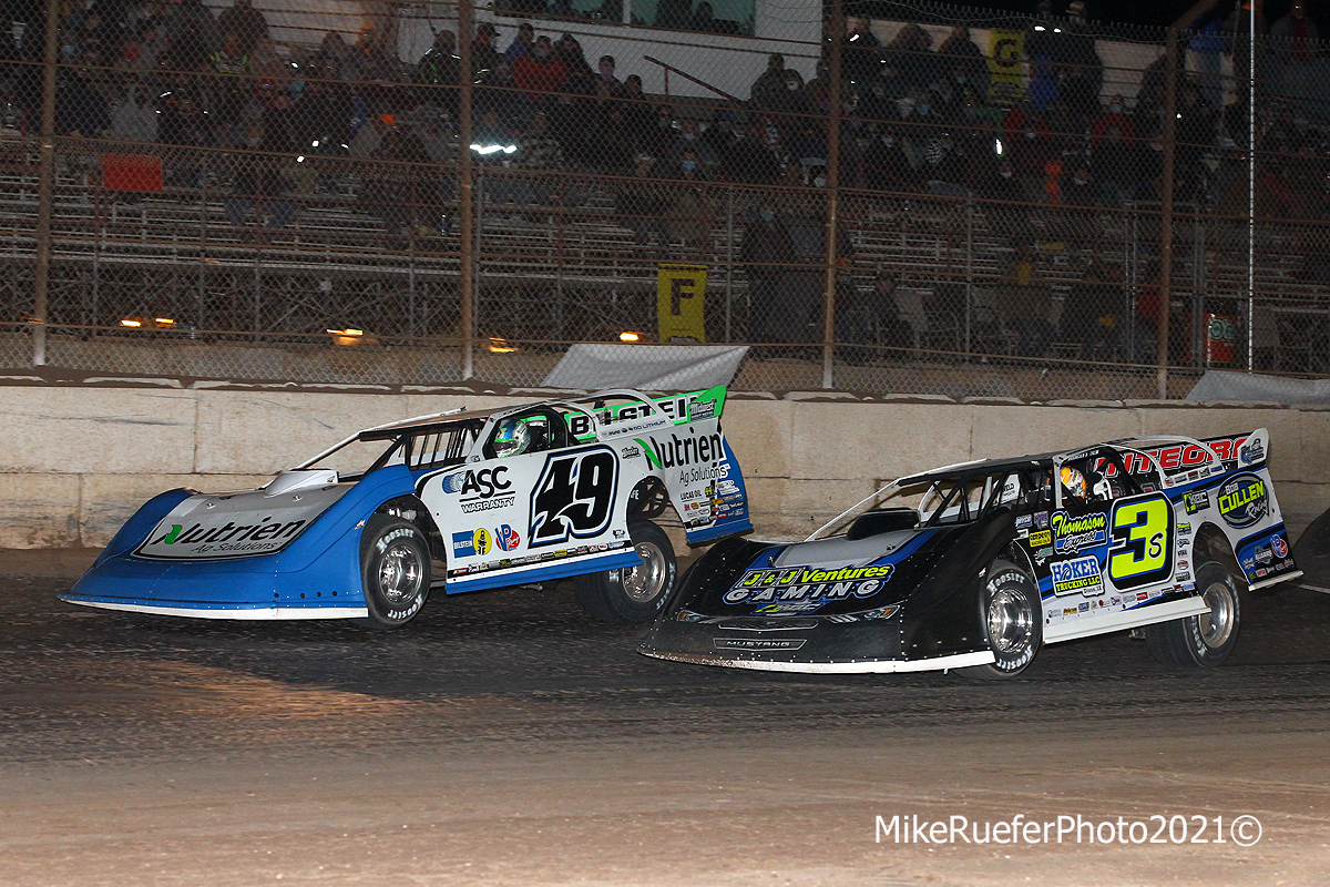 Jonathan Davenport and Brian Shirley - Wild West Shootout - Arizona Speedway