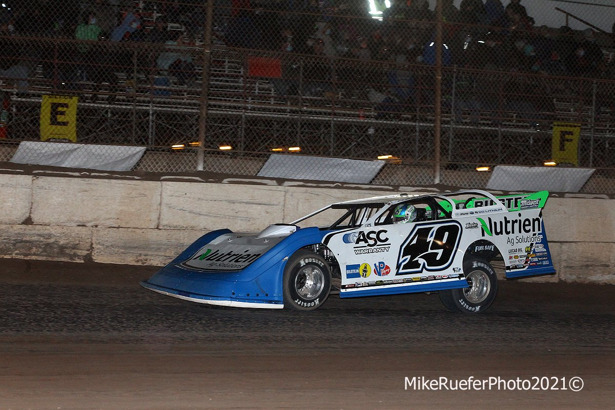 Jonathan Davenport at Arizona Speedway - Wild West Shootout