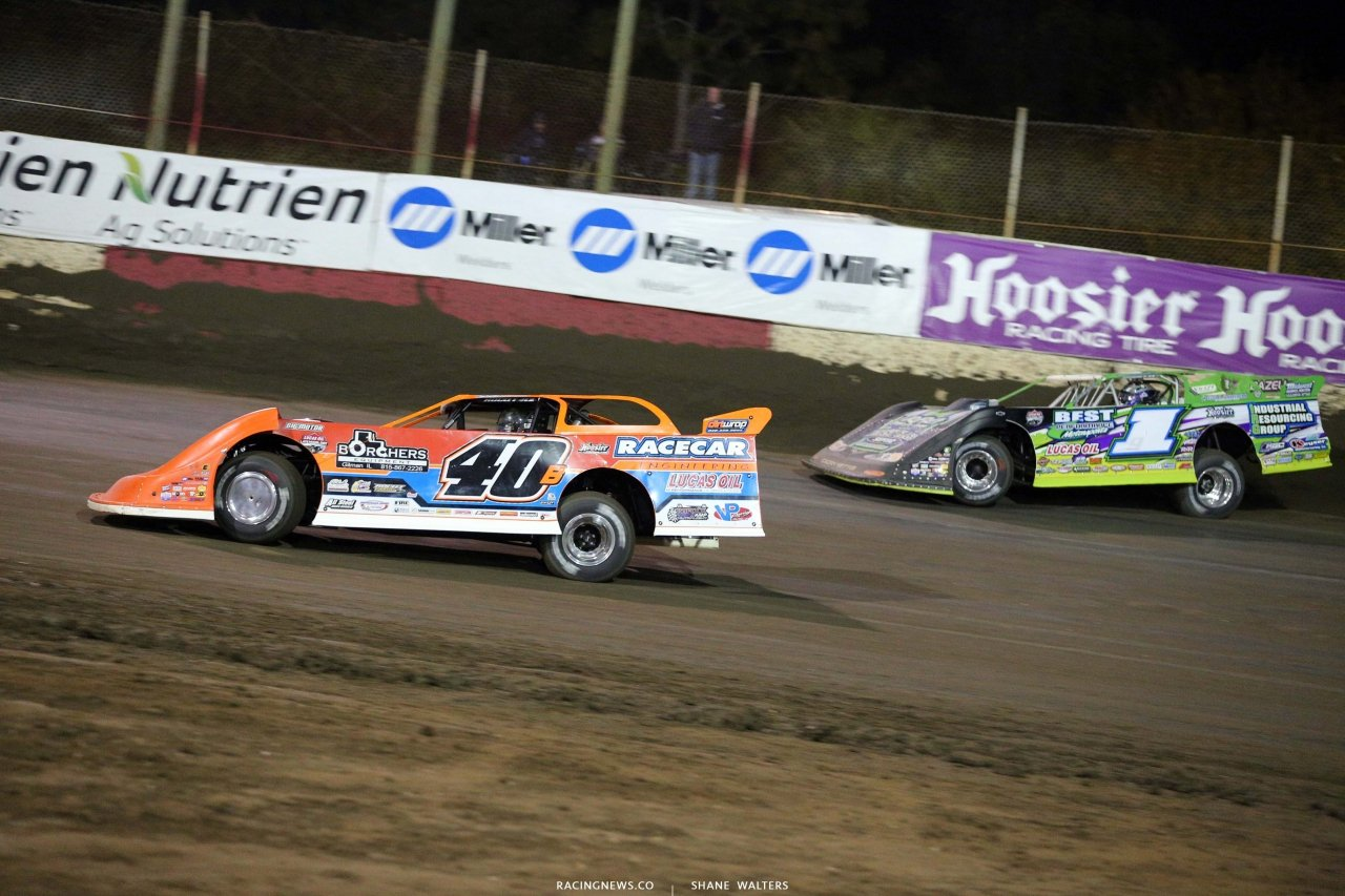 Kyle Bronson, Tyler Erb at East Bay Raceway Park - Dirt Late Model Racing 7550