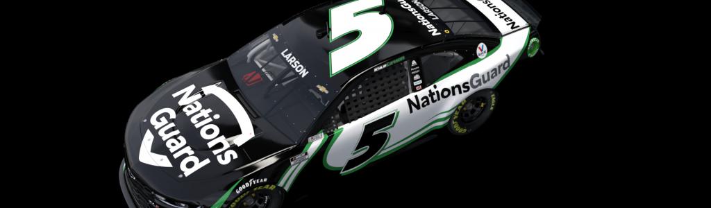 Kyle Larson's 2021 car and NASCAR sponsor revealed