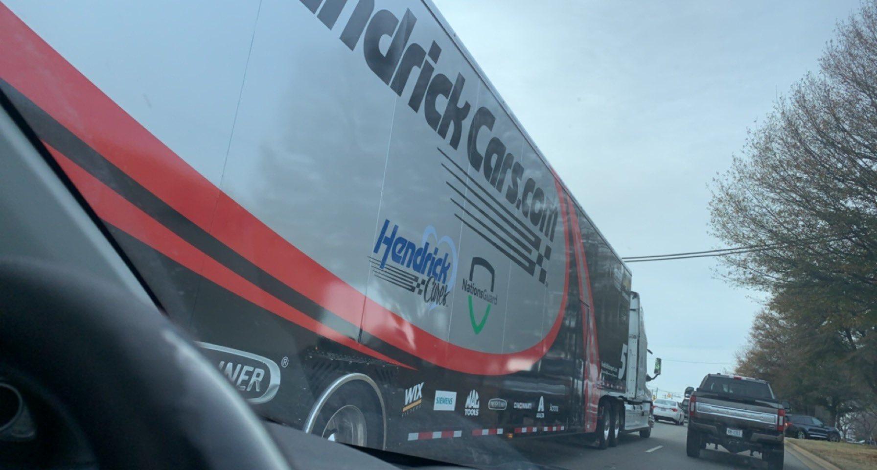 Kyle Larson S 2021 Hauler Leaked Racing News