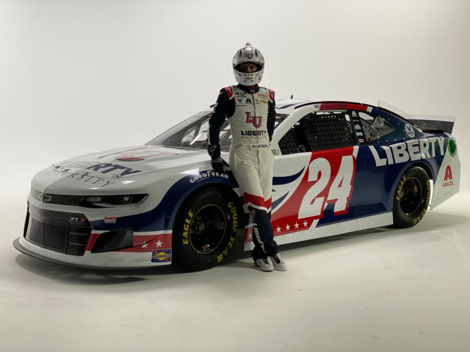 Liberty University - NASCAR - William Byron