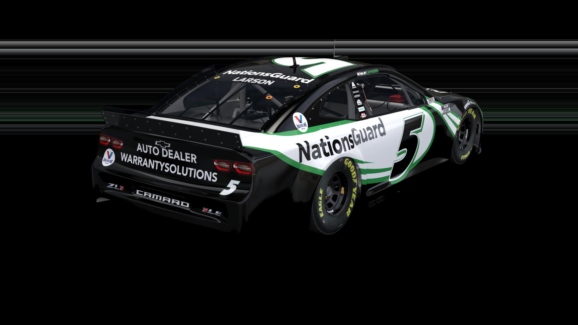NASCAR 5 paint scheme - Kyle Larson