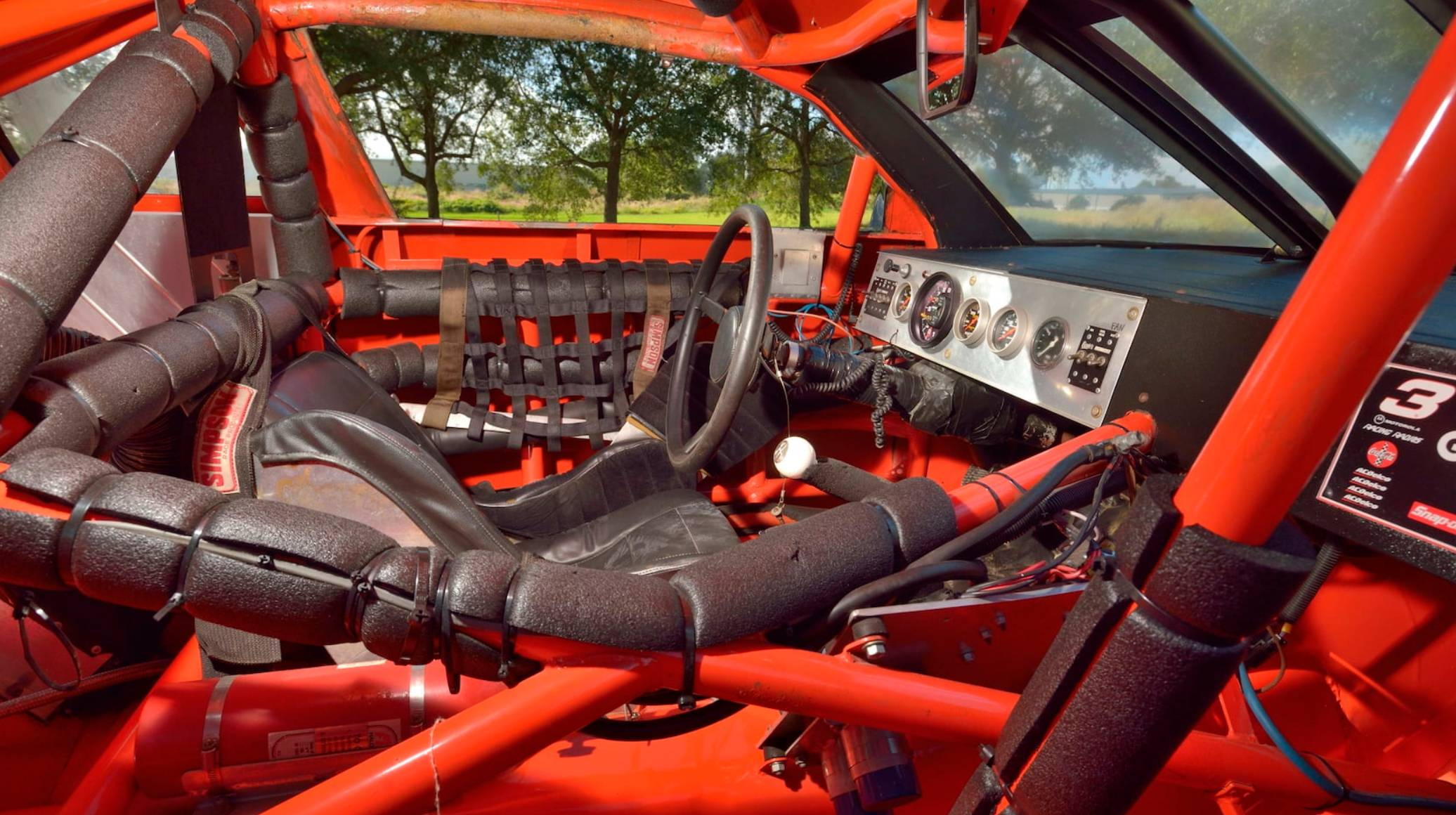 NASCAR cockpit - 1991