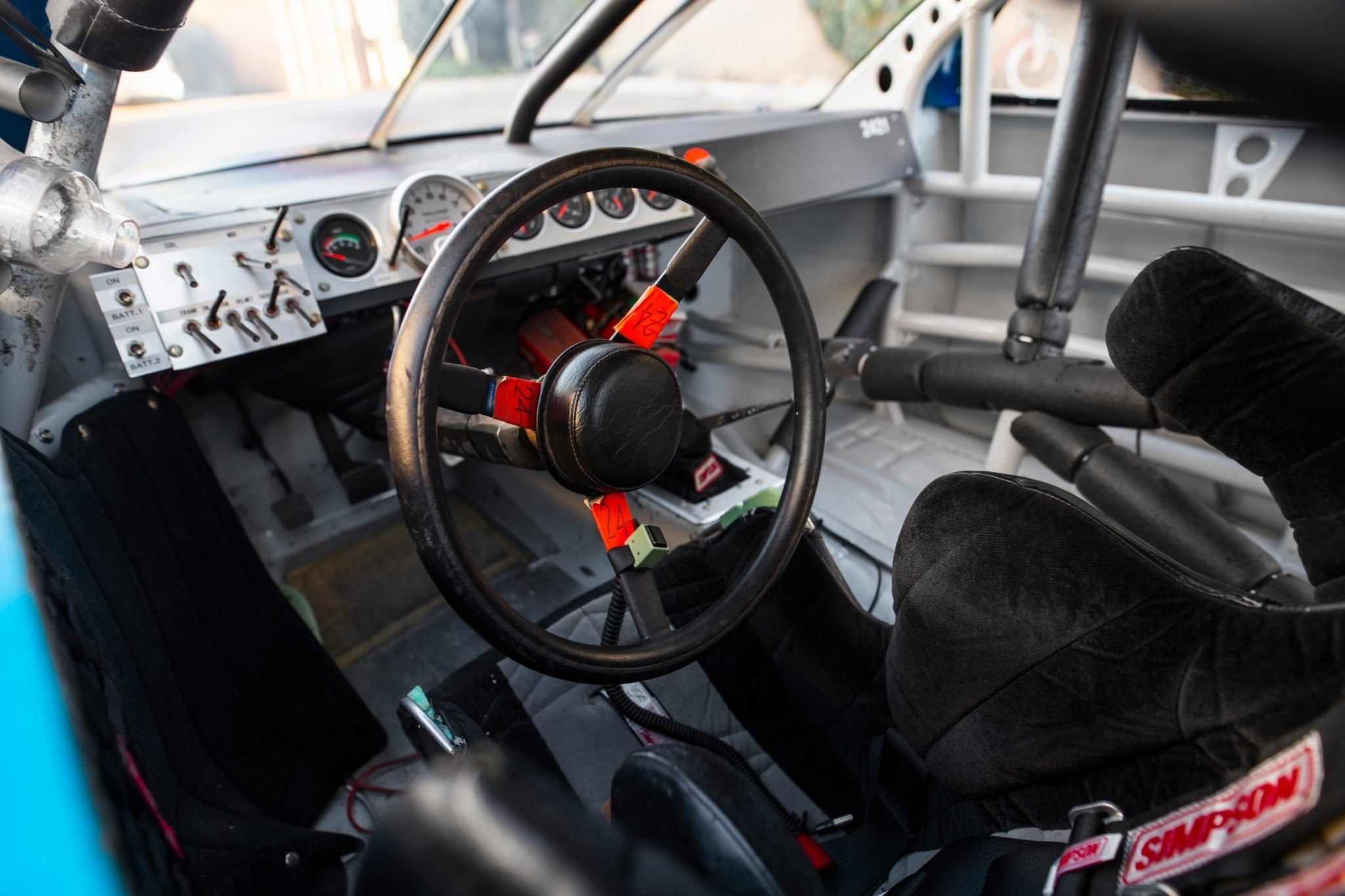 NASCAR cockpit - Jeff Gordon 1997