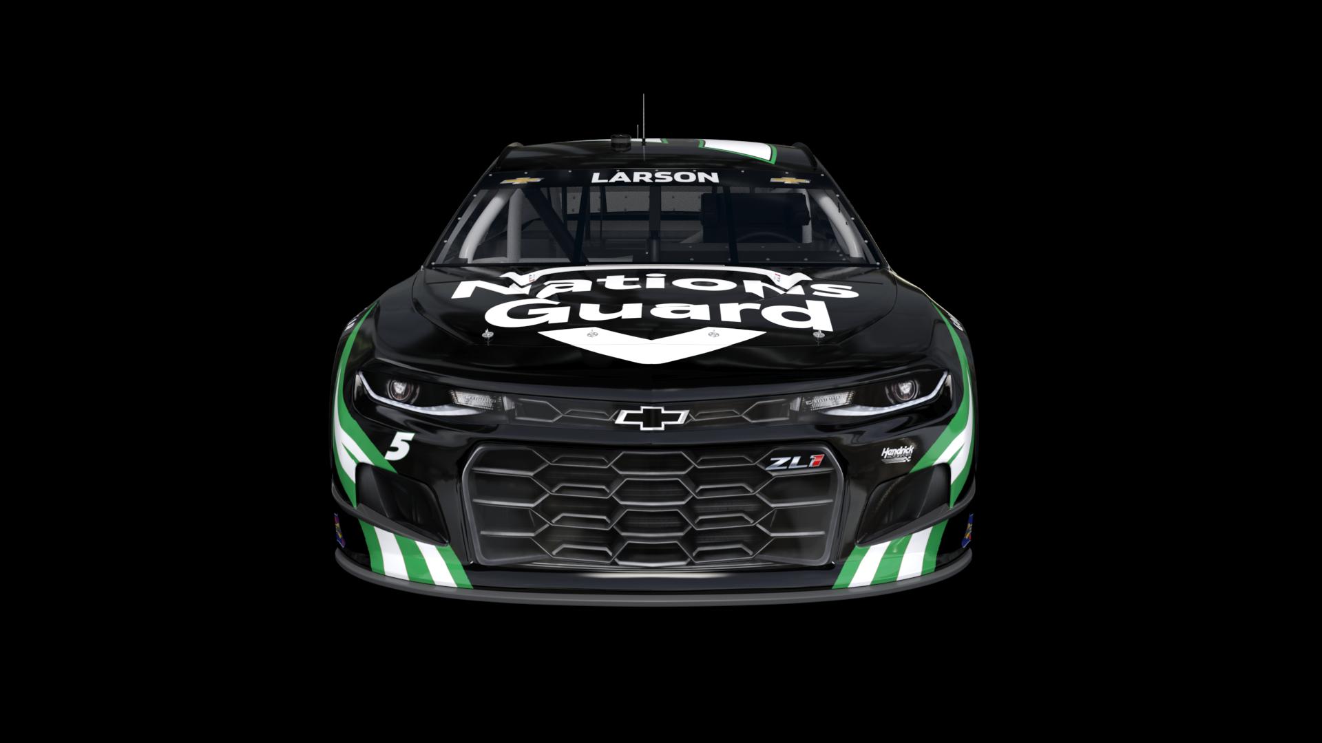 NASCAR no 5 paint scheme - Kyle Larson