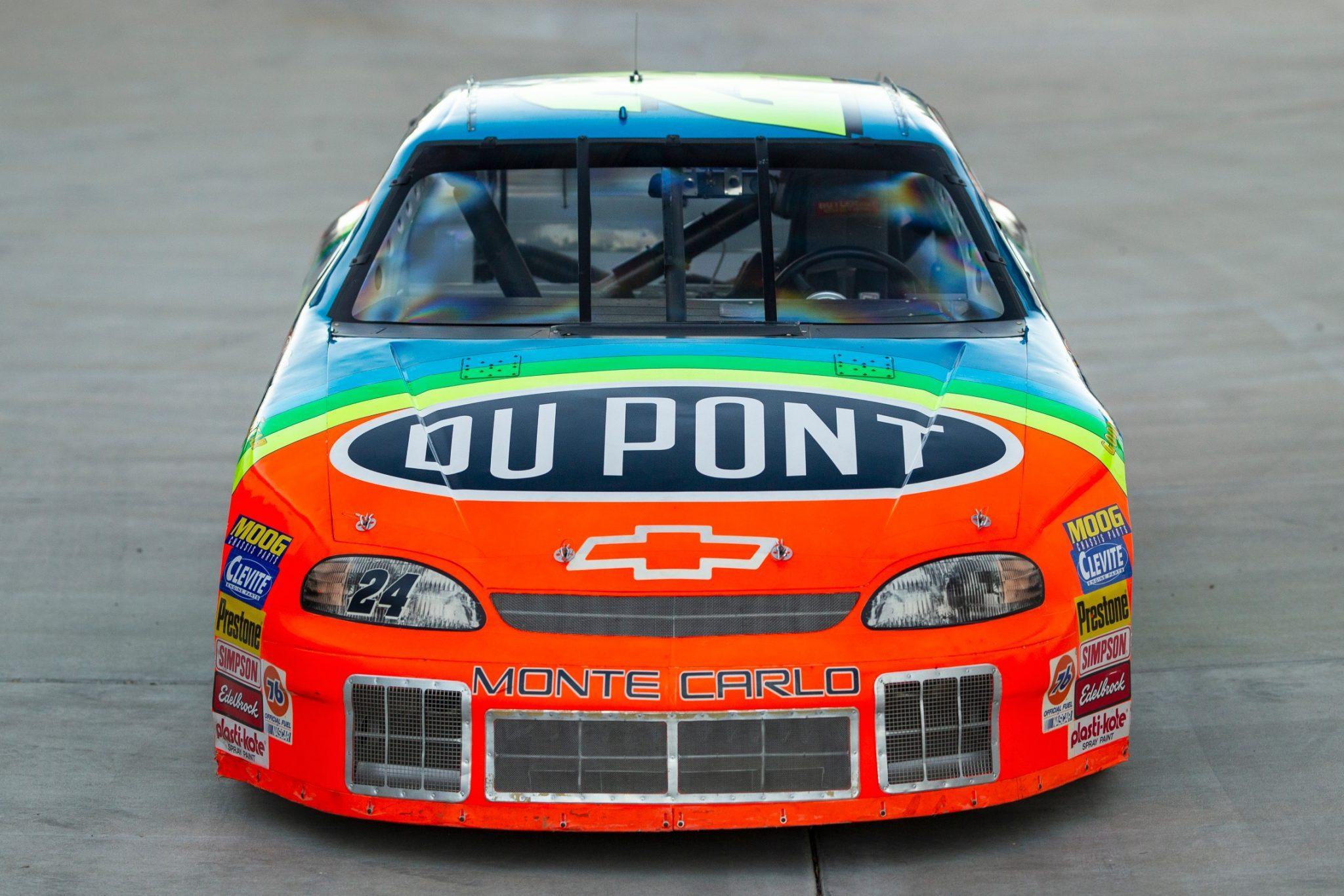 NASCAR race car sold - Jeff Gordon