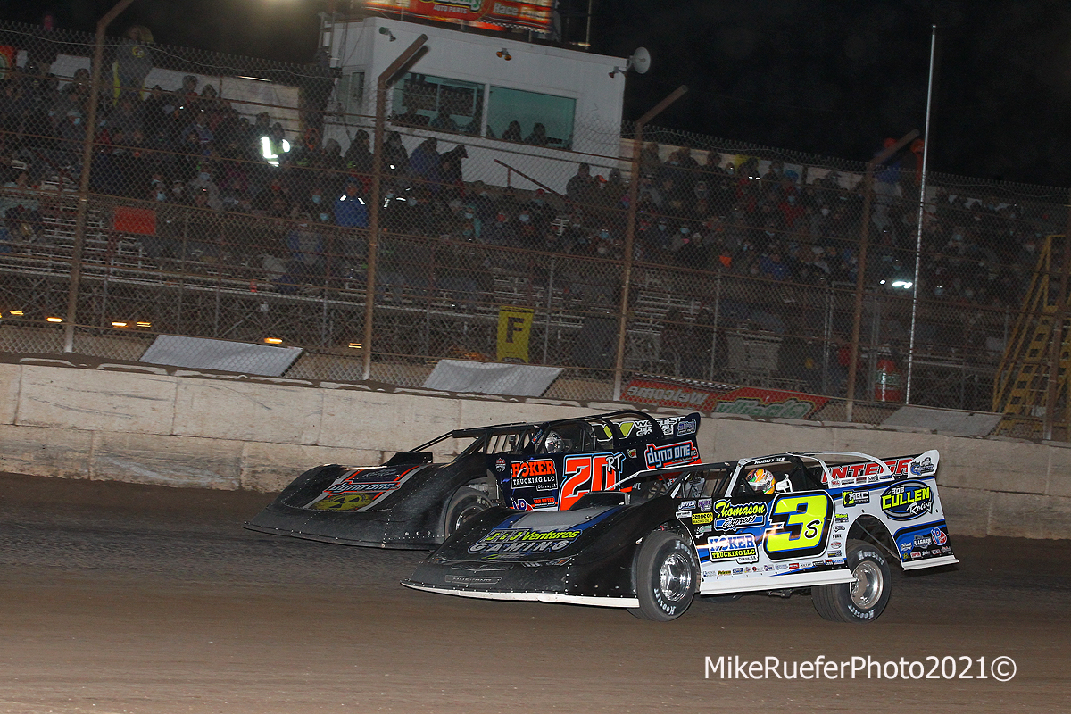 Ricky Thornton Jr and Brian Shirley - Wild West Shootout - Dirt Late Models