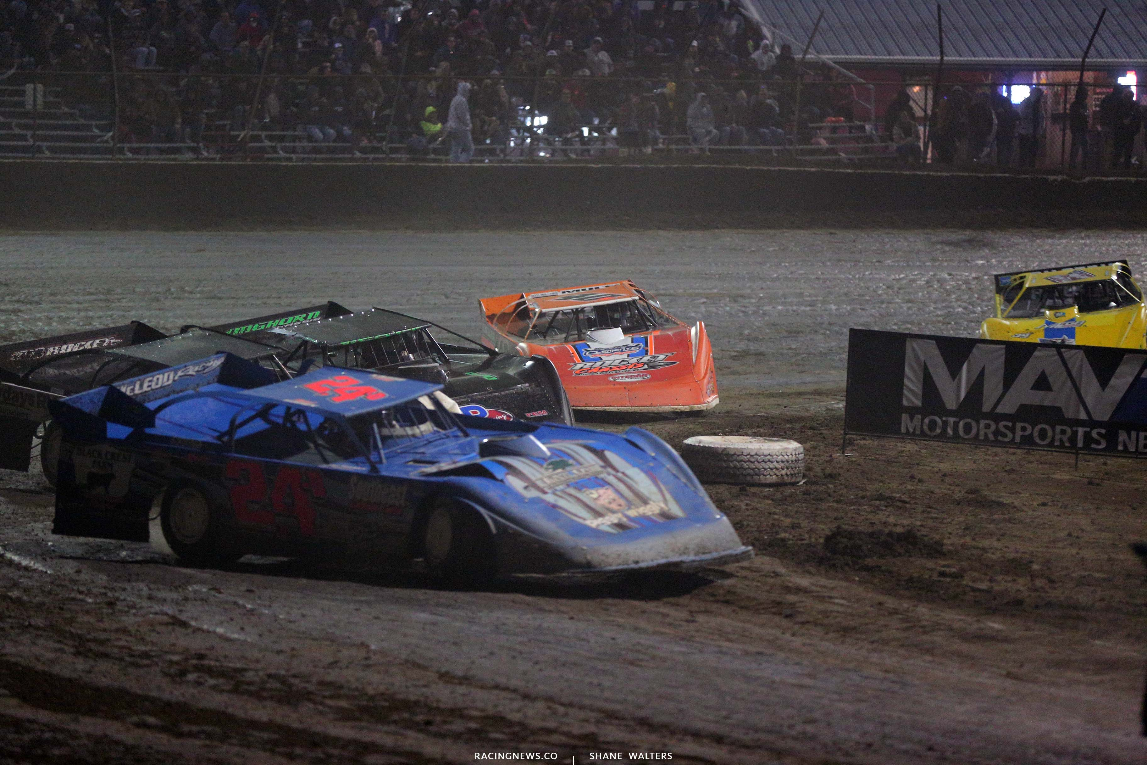 Stormy Scott and Kyle Bronson at East Bay Raceway Park - LOLMDS 8145