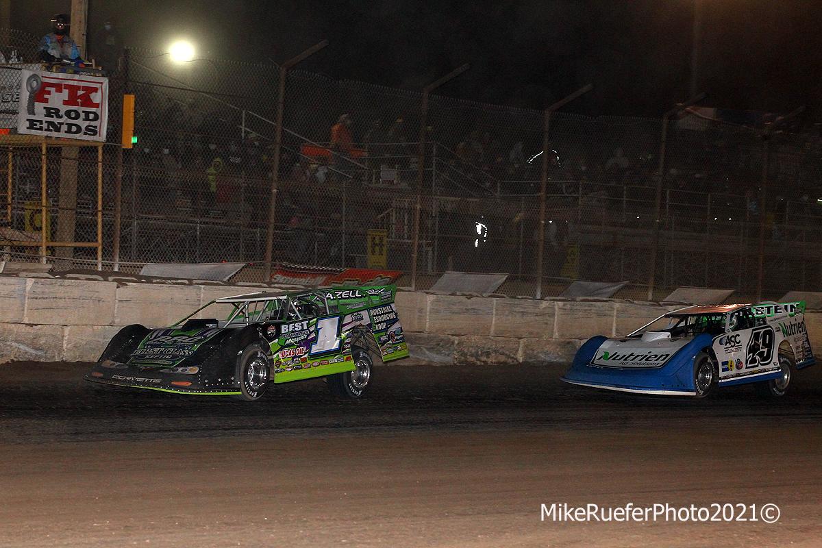 Tyler Erb and Jonathan Davenport - Wild West Shootout - Dirt Track Racing
