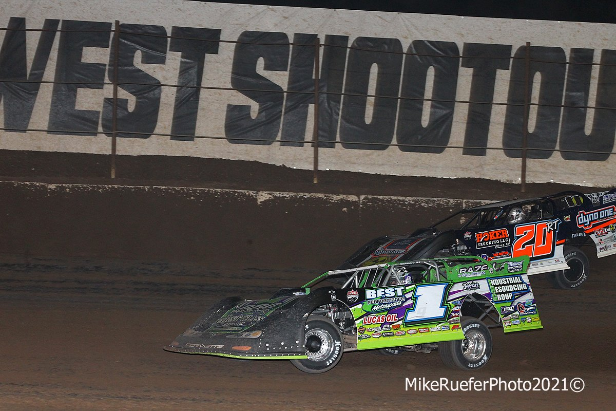 Tyler Erb and Ricky Thornton Jr - Wild West Shootout - Dirt Racing