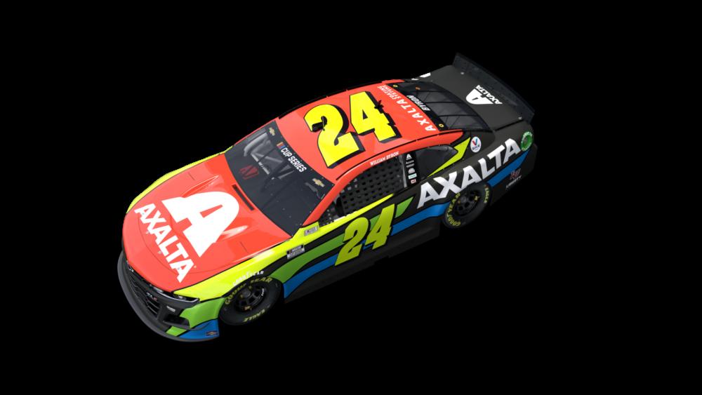 William Byron - Axalta paint scheme - Hendrick Motorsports