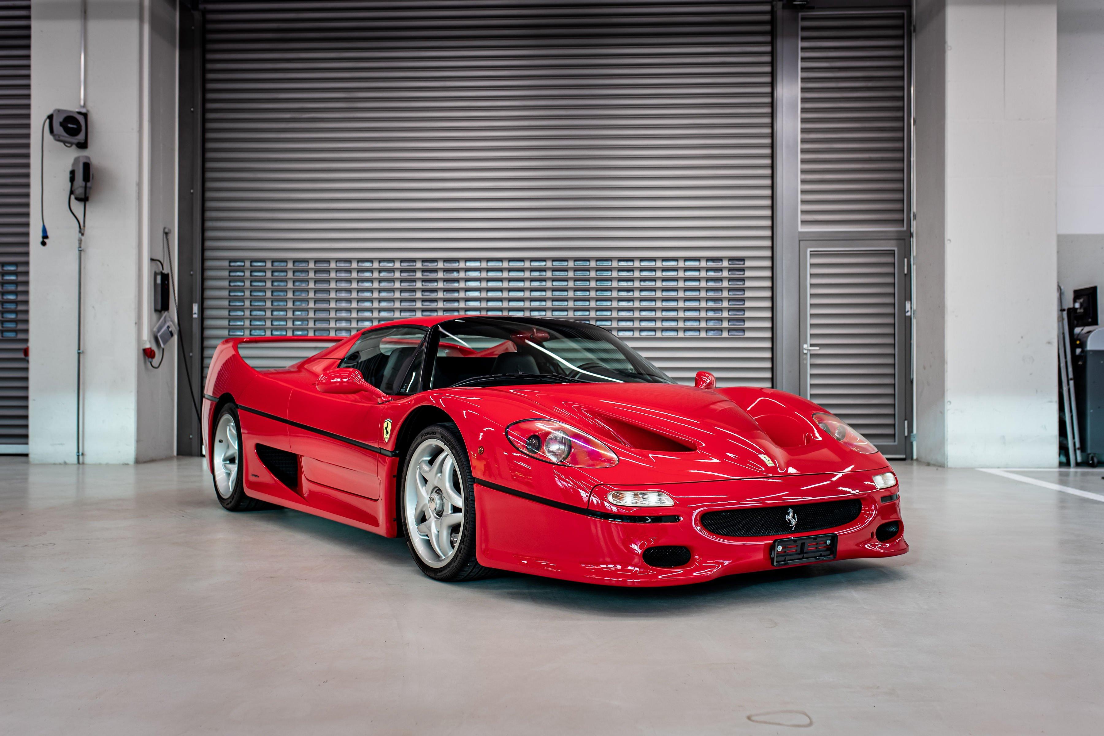 1996 Ferrari F50 - Sebastian Vettel - Car Collection