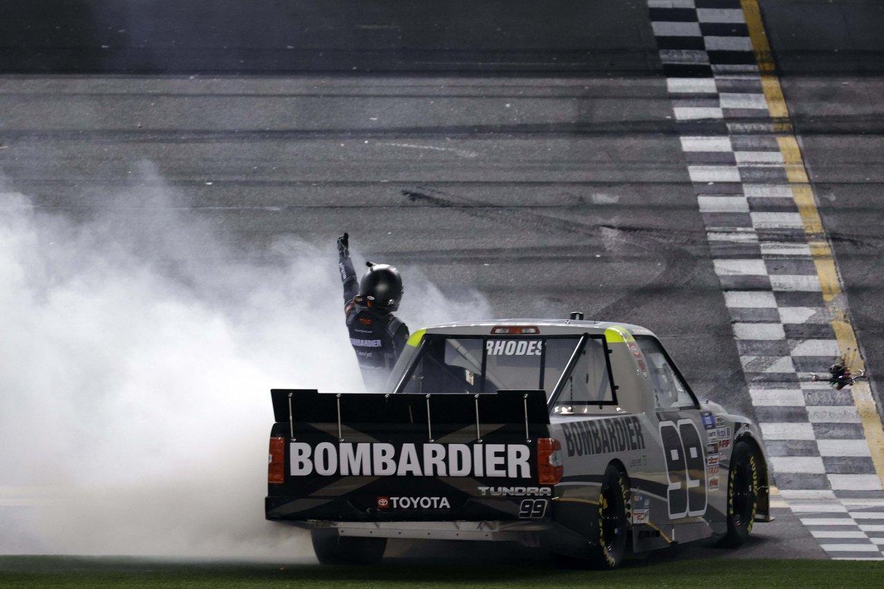 Ben Rhodes wins at Daytona International Speedway - NASCAR Truck Series