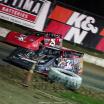 Bobby Pierce and Shane Clanton at Bubba Raceway Park - Lucas Oil Late Model Dirt Series 9389