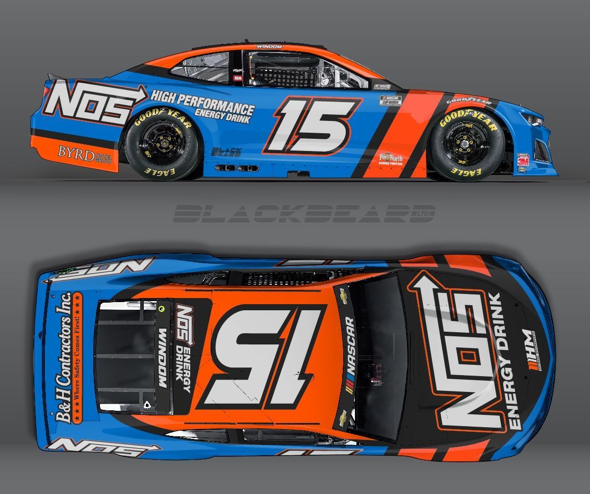 Chris Windom - NASCAR Cup Series - Bristol Dirt Track
