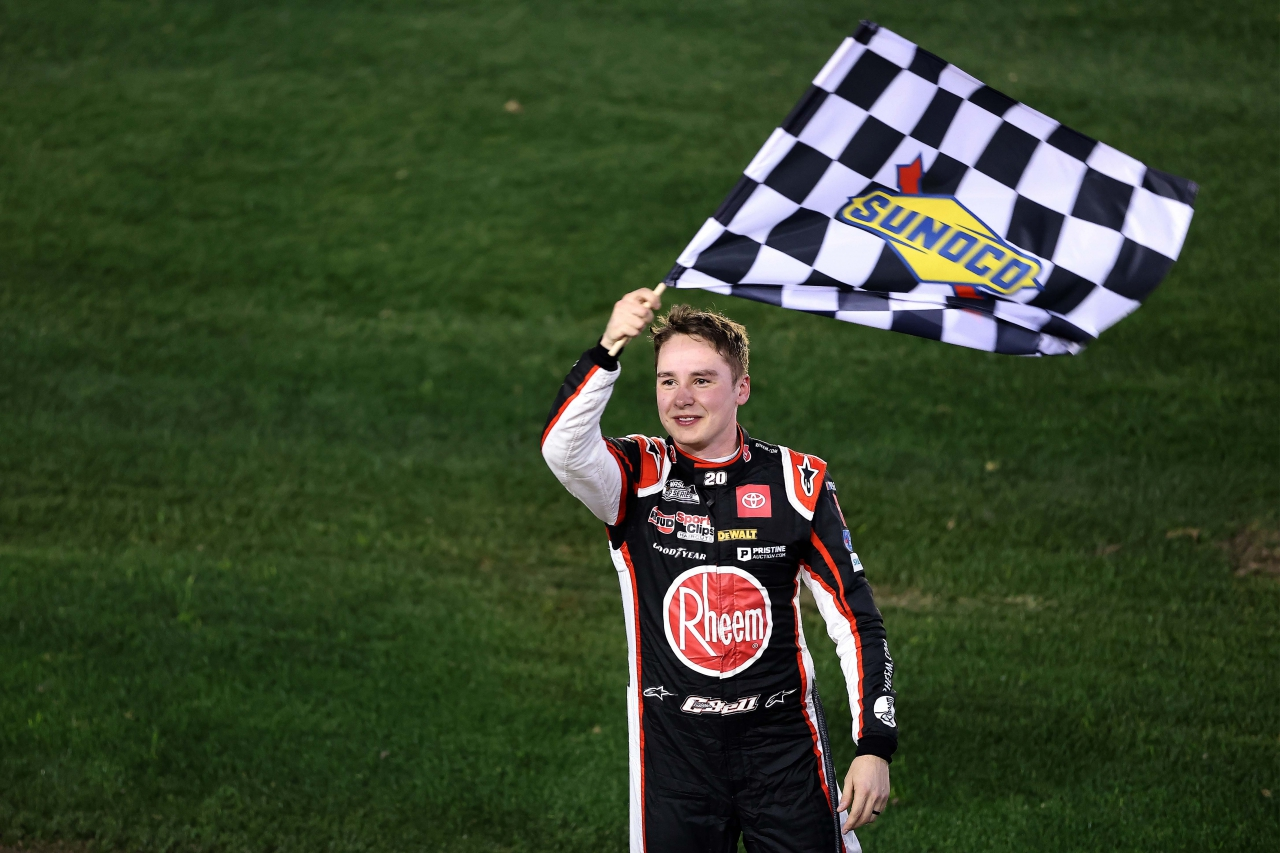 Christopher Bell in first NASCAR Cup Series win at Daytona