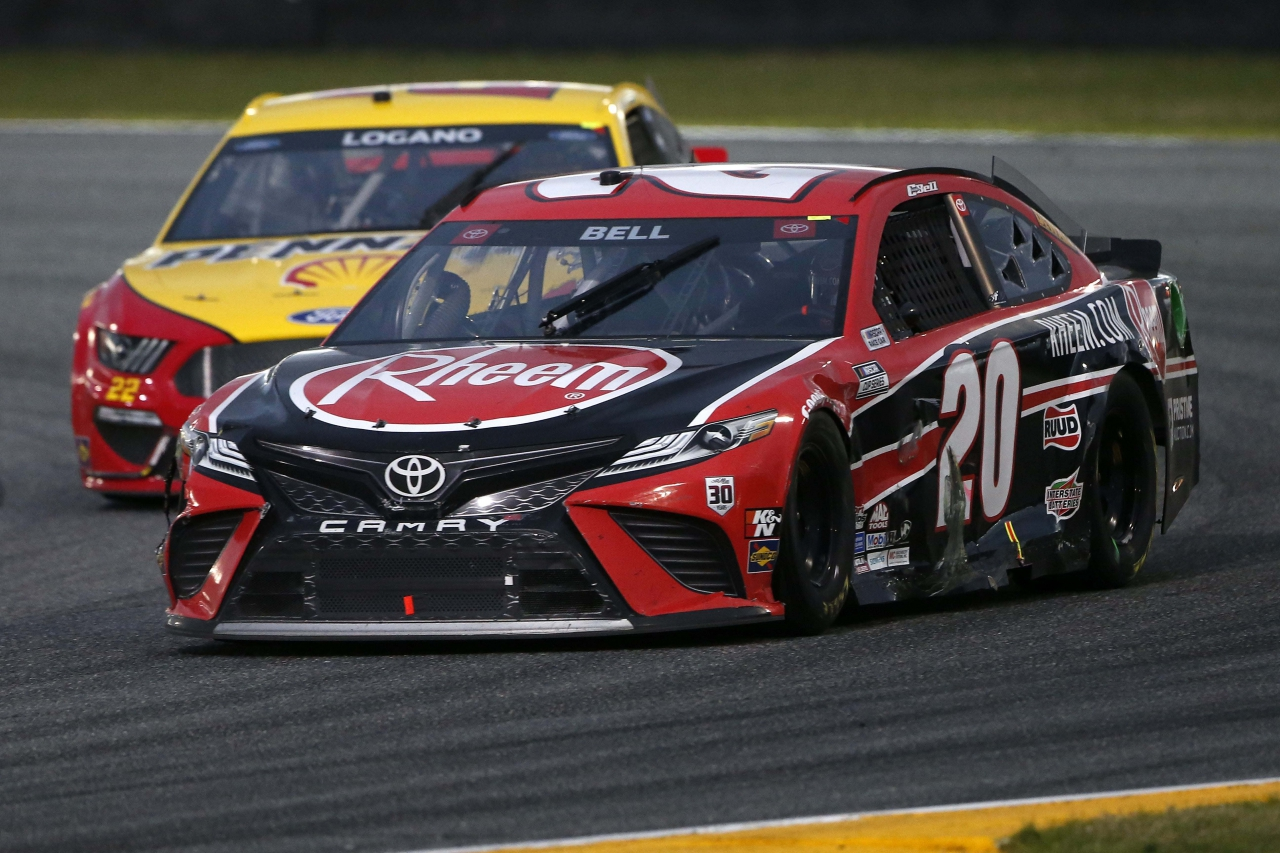 Christopher Bell on the Daytona Road Course - NASCAR Cup Series