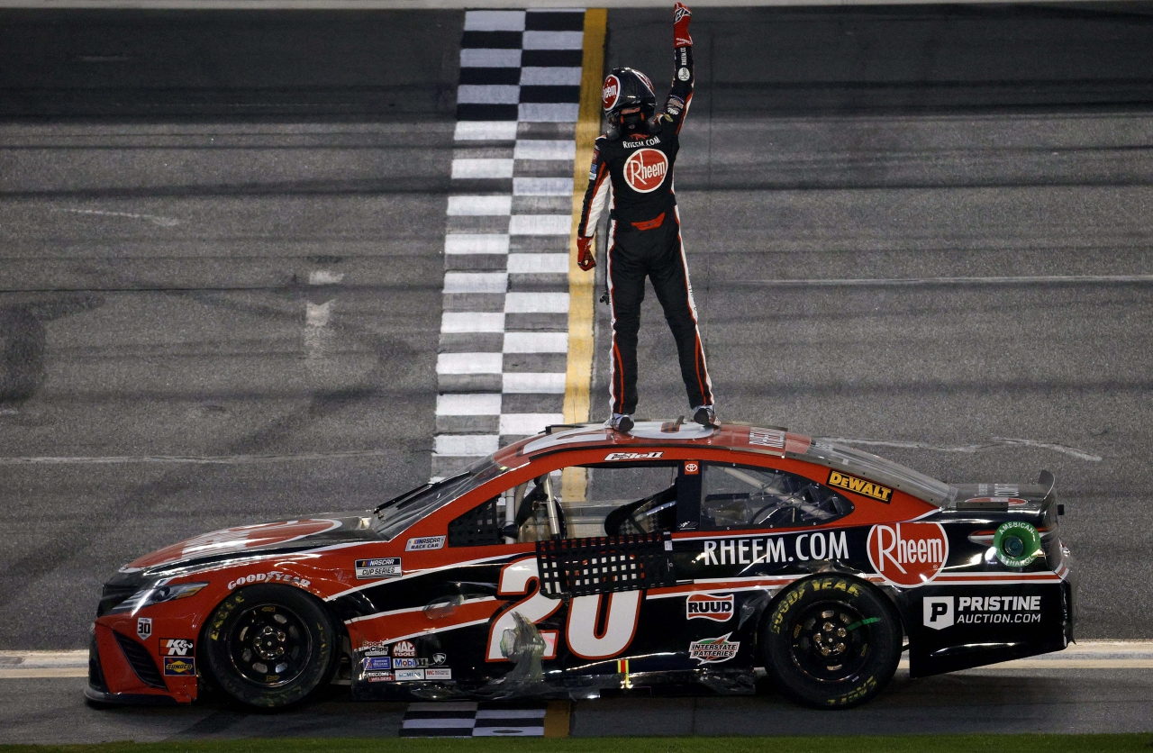 Christopher Bell wins on Daytona Road Course - NASCAR Cup Series